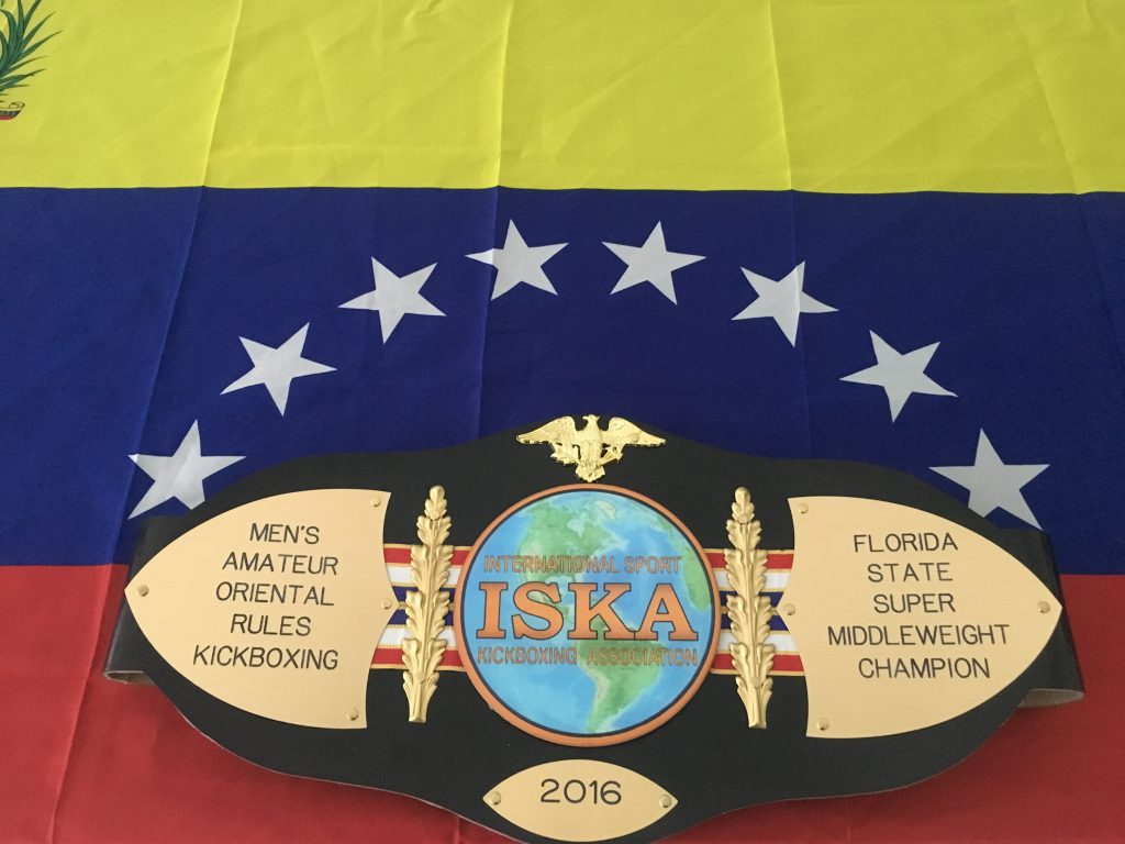 my new ISKA title